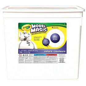 Crayola 2lbs Bucket Model Magic, White
