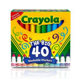 Crayola 40ct. Washable Markers