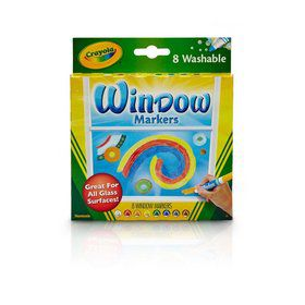 Crayola 8ct. Washable Window Markers