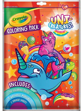 Crayola Uni-Creatures Big Coloring Pack
