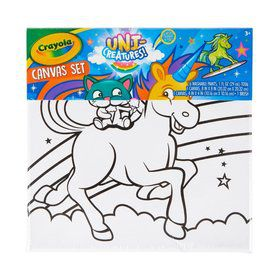 Crayola Uni-Creatures Canvas Set