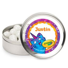 Crayola Uni-Creatures Personalized Mint Tins (12 Pack)