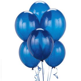 Crystal Blue Balloons (6)