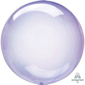 "Crystal Clearz 10"" Petite Balloon - Purple"