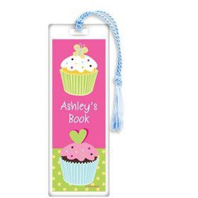 Cupcake Birthday Personalized Bookmark (each)