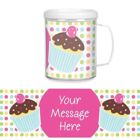 Cupcake Birthday Personalized Favor Mugs (Each)