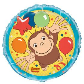 "Curious George 18"" Balloon (1)"