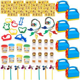 Curious George Filled Favor Box Kit (For 8 Guests)