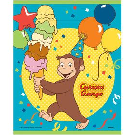 Curious George Loot Bags (8)