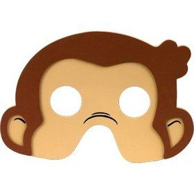 Curious George Mask (4-pack)