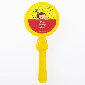 Curious Monkey Personalized Clappers (Set of 12)