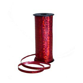 Curling Ribbon 100 Yard - Holographic Red