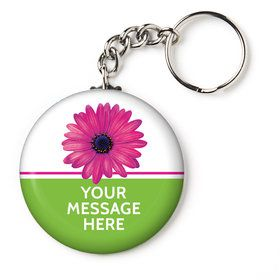"Daisy Power Personalized 2.25"" Key Chain (Each)"