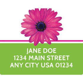 Daisy Power Personalized Address Labels (Sheet of 15)