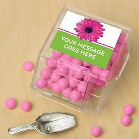 Daisy Power Personalized Candy Bin with Candy Scoop (10 Count)