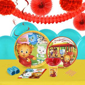 Daniel Tigers Neighborhood 16 Guest Tableware Deco Kit