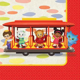 Daniel Tiger's Neighborhood Beverage Napkins (16)
