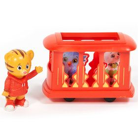 Daniel Tiger's Neighborhood Cake Topper (4 Pieces)