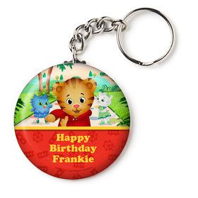 "Daniel Tiger's Neighborhood Personalized 2.25"" Key Chain (Each)"