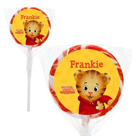 "Daniel Tiger's Neighborhood Personalized 2"" Lollipops (20 Pack)"