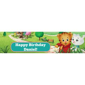 Daniel Tigers Neighborhood Personalized Banner (Each)