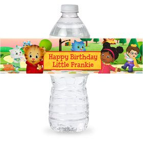 Daniel Tiger's Neighborhood Personalized Bottle Label (Sheet of 4)