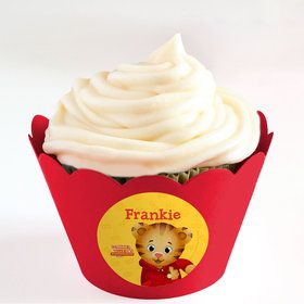 Daniel Tiger's Neighborhood Personalized Cupcake Wrappers (Set of 24)