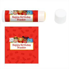 Daniel Tiger's Neighborhood Personalized Lip Balm (12 Pack)