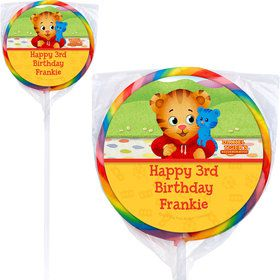 Daniel Tiger's Neighborhood Personalized Lollipops (12 Pack)