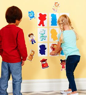 Daniel Tiger's Neighborhood - Silhouette Matching Game