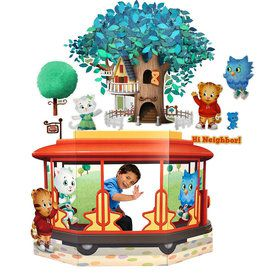 Daniel Tiger's Neighborhood Wall Decal and Stand In Combo Pack