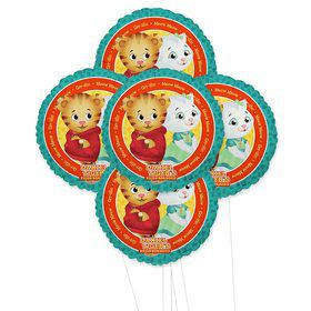 Daniel Tigers Neighborhoods 5pc Foil Balloon Kit