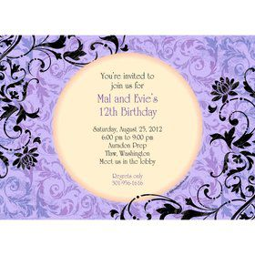 Dawn Personalized Invitation (each)