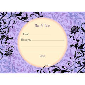 Dawn Personalized Thank You Note (each)
