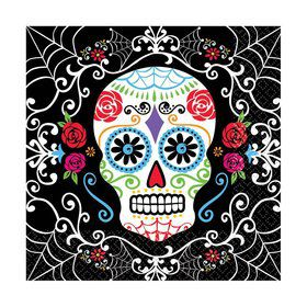 Day of the Dead Lunch Napkins (36 Pack)