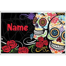 Day of the Dead Personalized Placemat (Each)