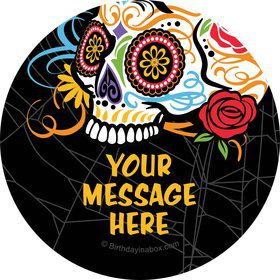 Day of the Dead Personalized Stickers (Sheet of 12)