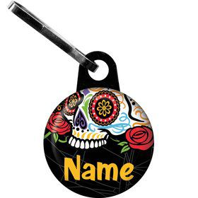 Day of the Dead Personalized Zipper Pull (Each)