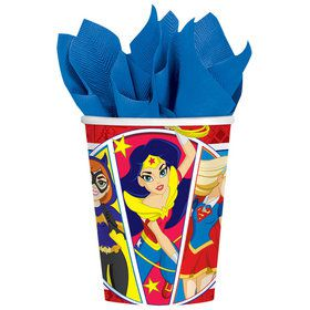 DC Super Hero Girls 9oz Cups (8 Count)