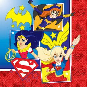 DC Super Hero Girls Luncheon Napkins (16 Count)