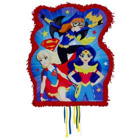 DC Super Hero Girls Pull Pinata