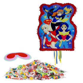 DC Superhero Girls Pull String Pinata Kit