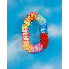 Deluxe Extra Large Multi Color Flower Lei