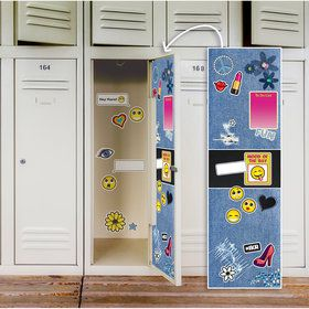 Denim Locker Decal
