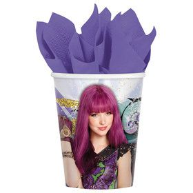 Descendants 2 9oz Paper Cup (8)