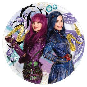 Descendants 2 Dinner Plate (8)