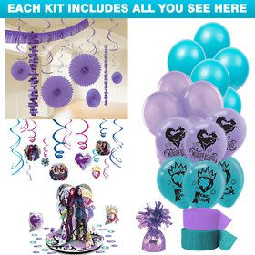 Descendants 2 Party Decoration Kit