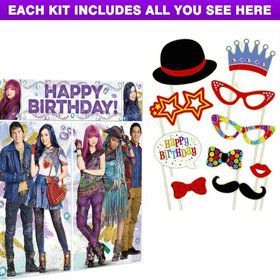 Descendants 2 Party Photo Booth Kit