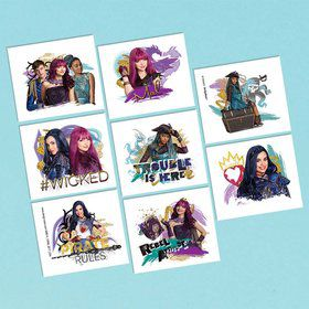 Descendants 2 Tattoo Sheet