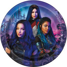 Descendants 3 Lunch Plates (8)